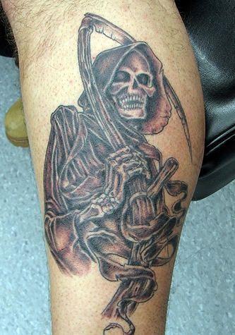Pin by Stephanie Kessler on Tattoos   Grim reaper tattoo ...