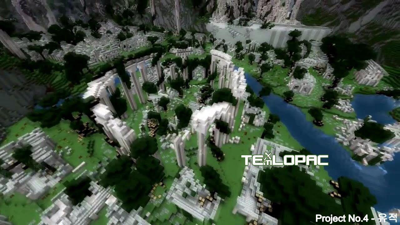Minecraft Timelapse : Ruin(s) :