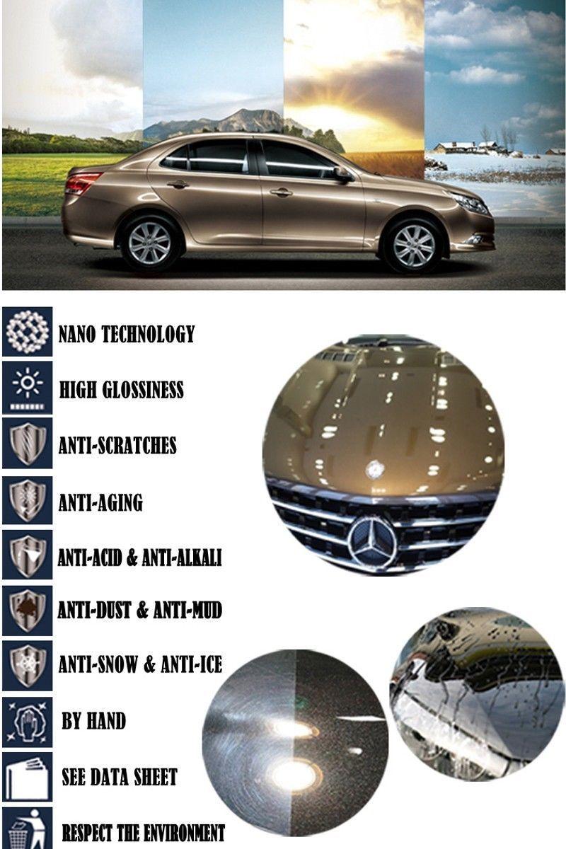 Nanotech Crystal Car Coating Rs A Ccs01 9h Ceramic Paint Protection Nano Car Coating Ceramic Coating Paint Protection