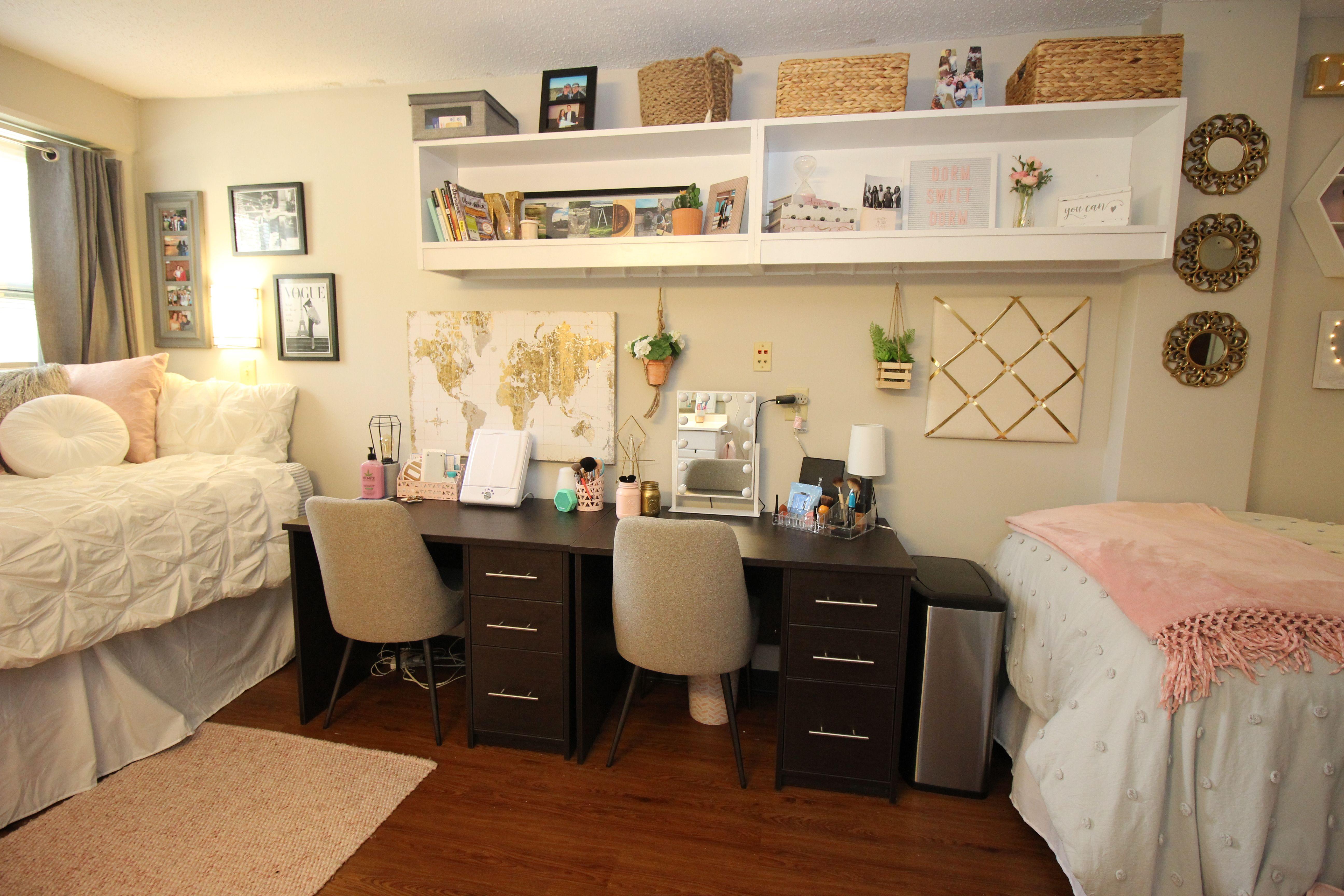 Traditional Double Room Dorm Room Decor Dorm Room Inspiration