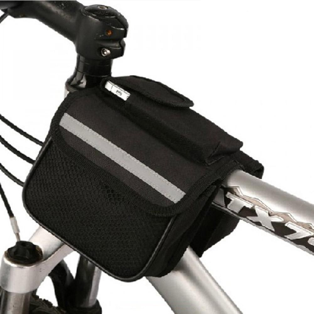 Handlebar Bag Bike pouch Cycling Mountain Bike Front Bicycle Head Accessories