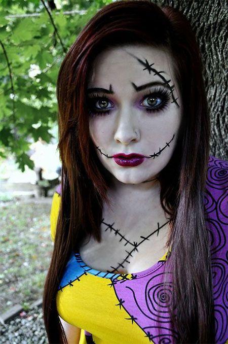 Scary Doll Halloween Makeup | Halloween Makeup | Pinterest | Scary ...