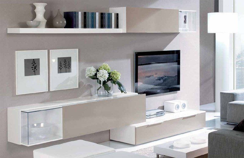 Muebles salon modernos buscar con google sal n for Muebles modulares salon modernos