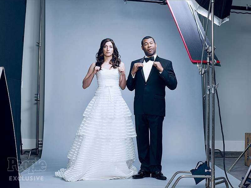 Chelsea Peretti And Jordan Peele Expecting First Child Chelsea Peretti Jordan Peele Celebrity Weddings