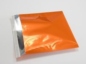 Snazzybags, orange, blickdicht, 220x220mm, haftklebend