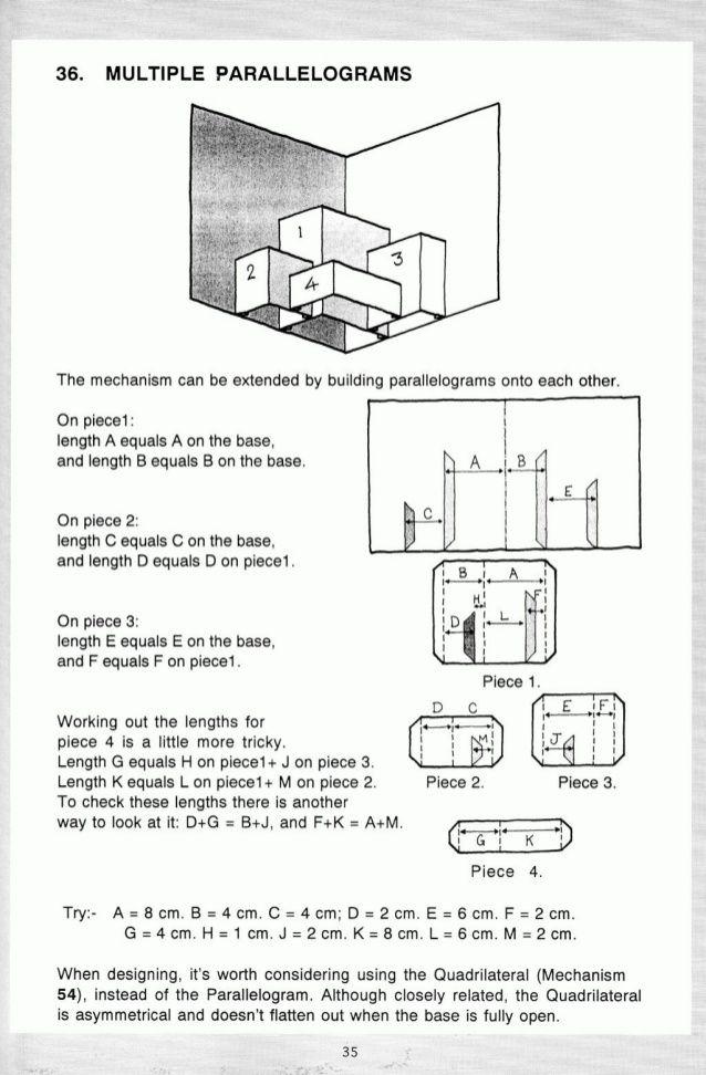 Pop Up A Manual Of Paper Mechanisms Duncan Birmingham Tarquin