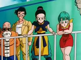 Master Roshi, Yamcha, Chi Chi and Bulma | DBZ Couples ...