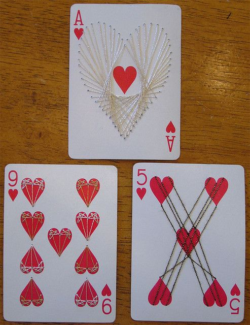 Apc Thread Hearts With Images Playing Cards Art Playing Card