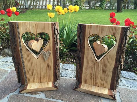 Holzschild herz ideen 1 pinterest holz deko holz for Gartendeko holzbrett