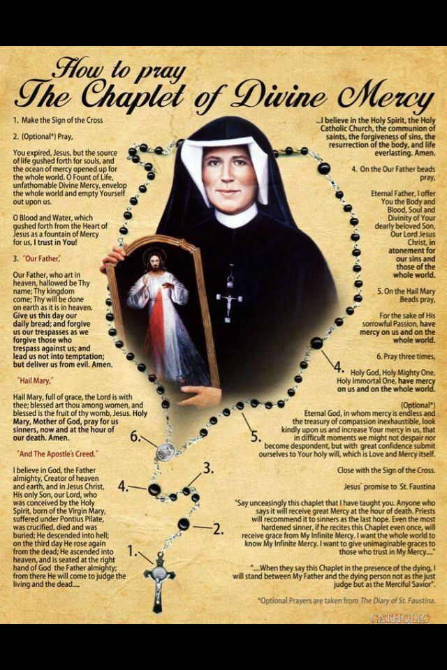 Image result for chaplet of divine mercy
