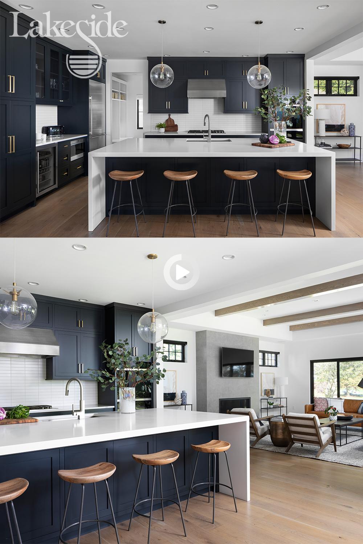 Redirecting in 9   Open concept kitchen living room, Open plan ...