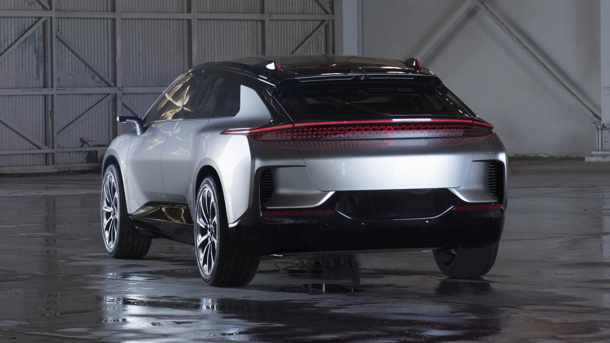 This Is Faraday Future S New Car And It S Got 1 050bhp Faraday Future Future Car Jaguar Range