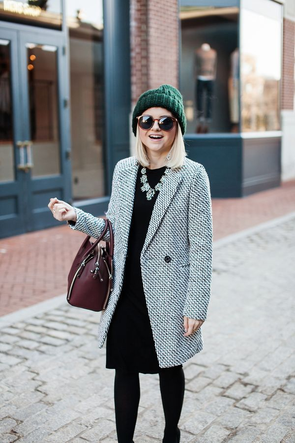 58adb87c0598 Poor Little It Girl - Tweed Coat -  poorlilitgirl