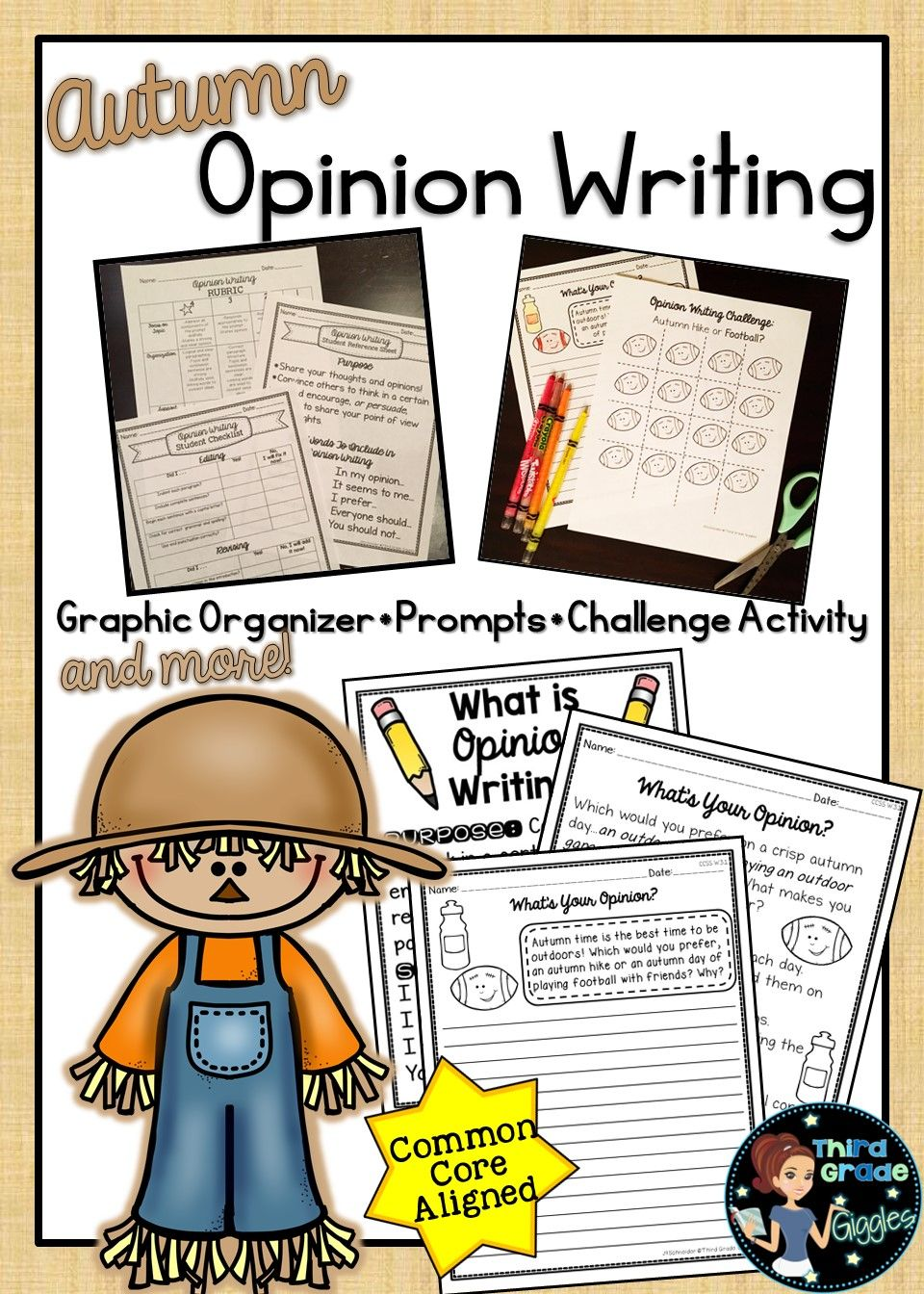 These Opinion Writing Prompts Are Fall Themed Prompts Perfect For Any Classroom Getting Opinion Writing Opinion Writing Prompts Opinion Writing Anchor Charts