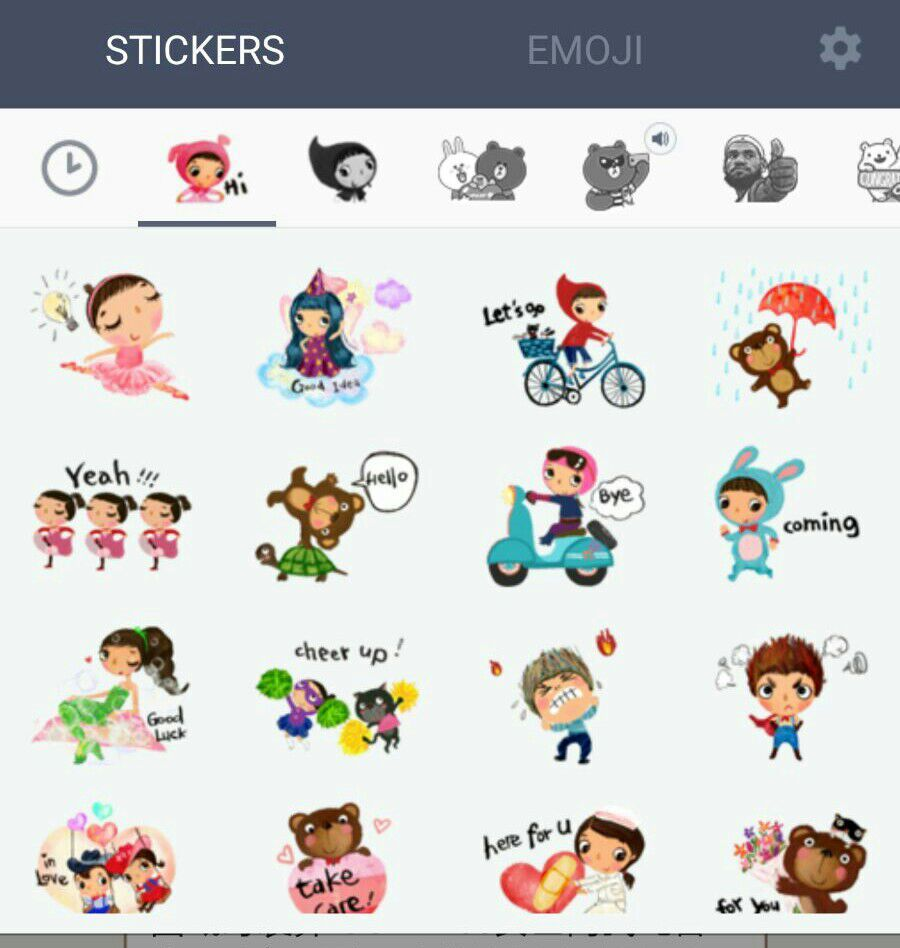 9c1161ef2c39 HosannArt characters icons for LINE