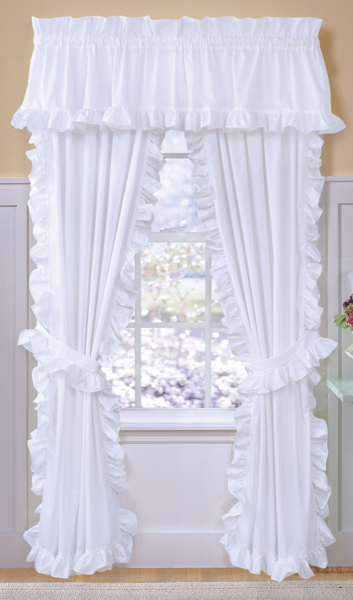Classic Cape Cod Curtain Panel Pair In 2020 Curtains Panel