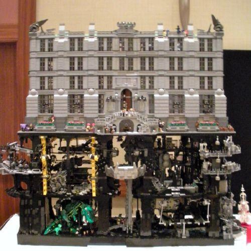 The Batcave/Wayne Manor at Brickworld 2010: A LEGO® creation by Dave Kaleta : MOCpages.com