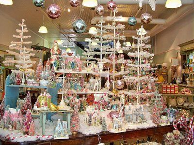 Some of the beautiful displays in Vintage General