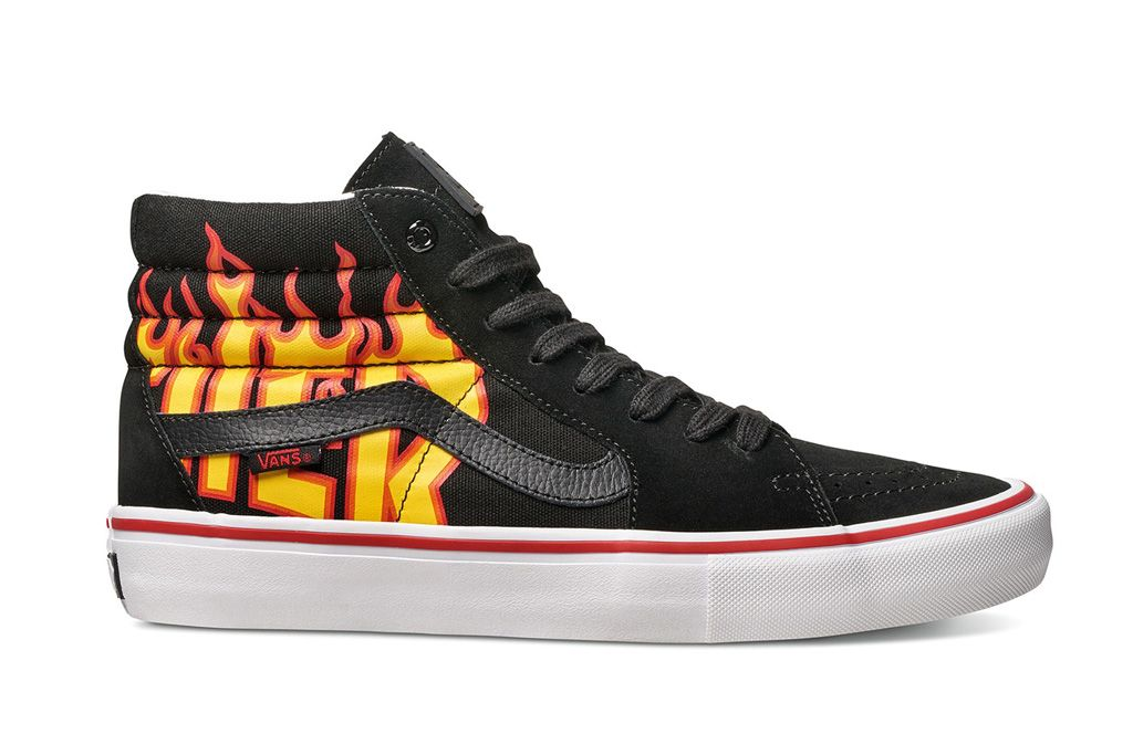 Thrasher and Vans Are Dropping Flame Covered Kicks on
