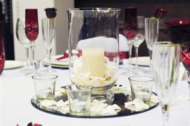 Hurricane Vase Simple Centerpieces Hurricane Vase Wedding Centerpieces