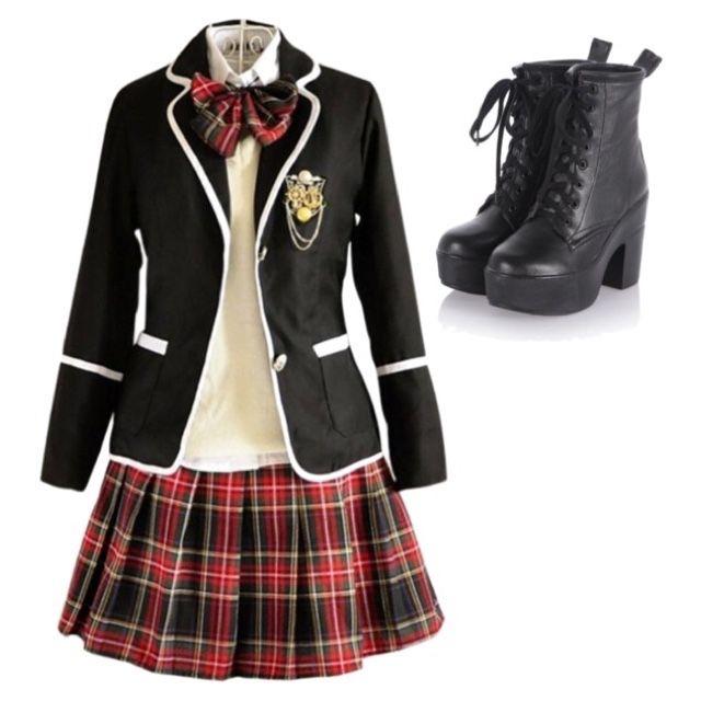 Going to school with exo ropa anime pinterest - Uniformes sanitarios modernos ...