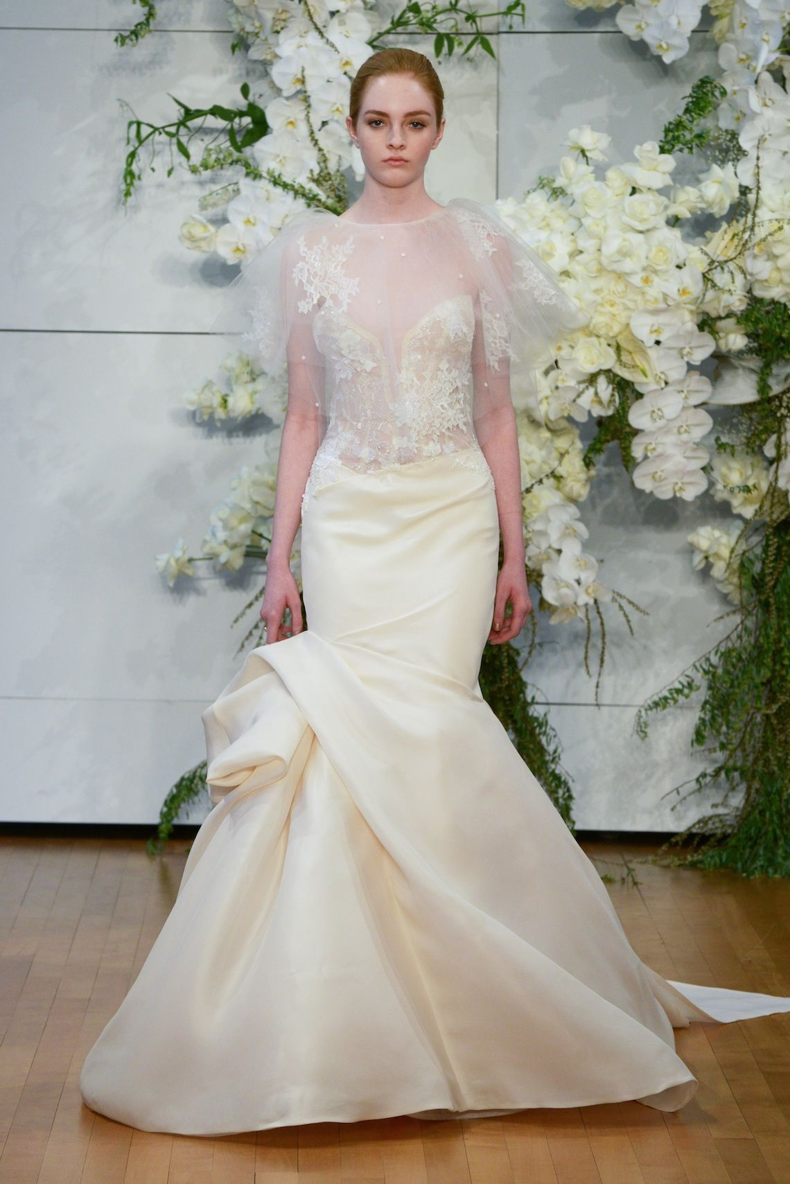 Best of Bridal Fashion Week: Monique Lhuillier Wedding Dress ...