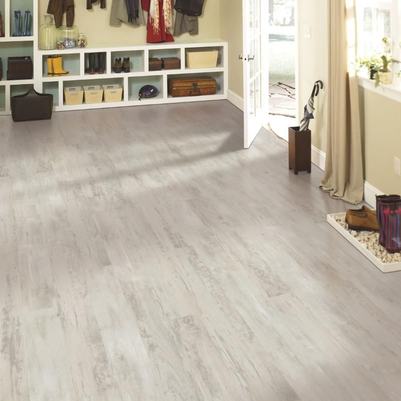 mohawk solidtech revelance cool concrete vinyl plank is waterproof it features the uniclic multifit locking mechanism for easy diy