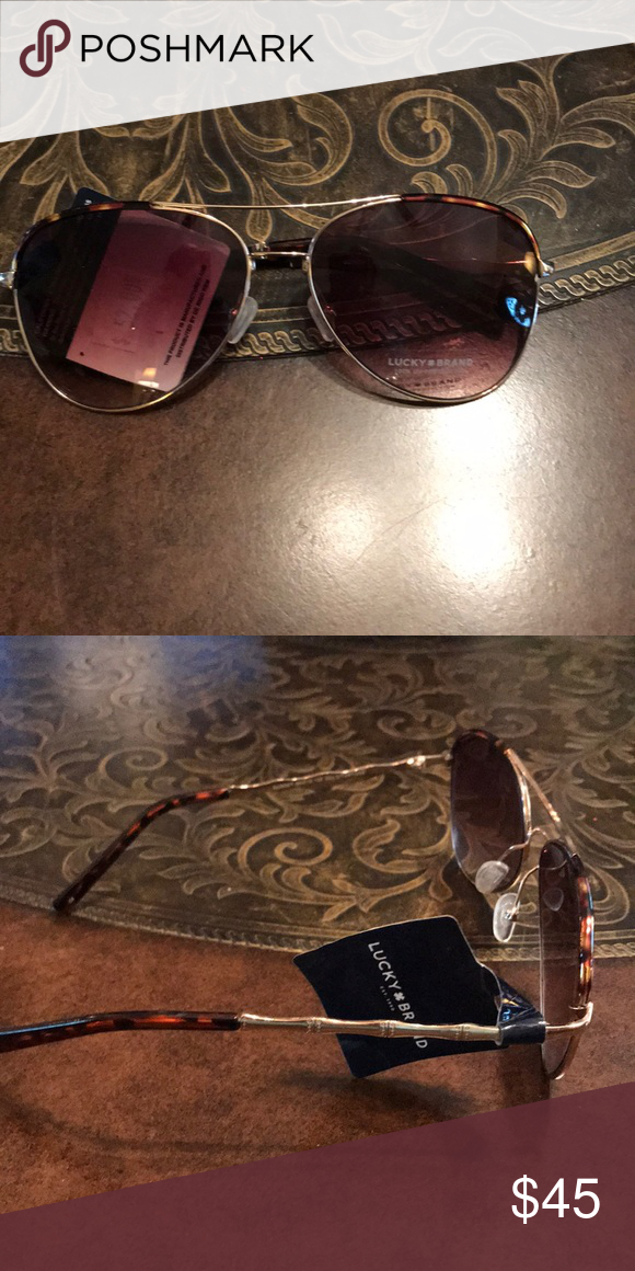 1e57d7a57b7 NWT LUCKY SUNGLASSES NWT LUCKY SUNGLASSES AVIATOR STYLE Lucky Brand  Accessories Glasses