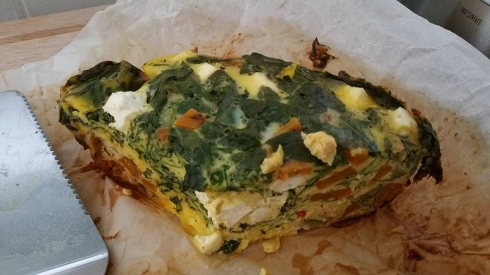 Chargrilled Vegetable Frittata