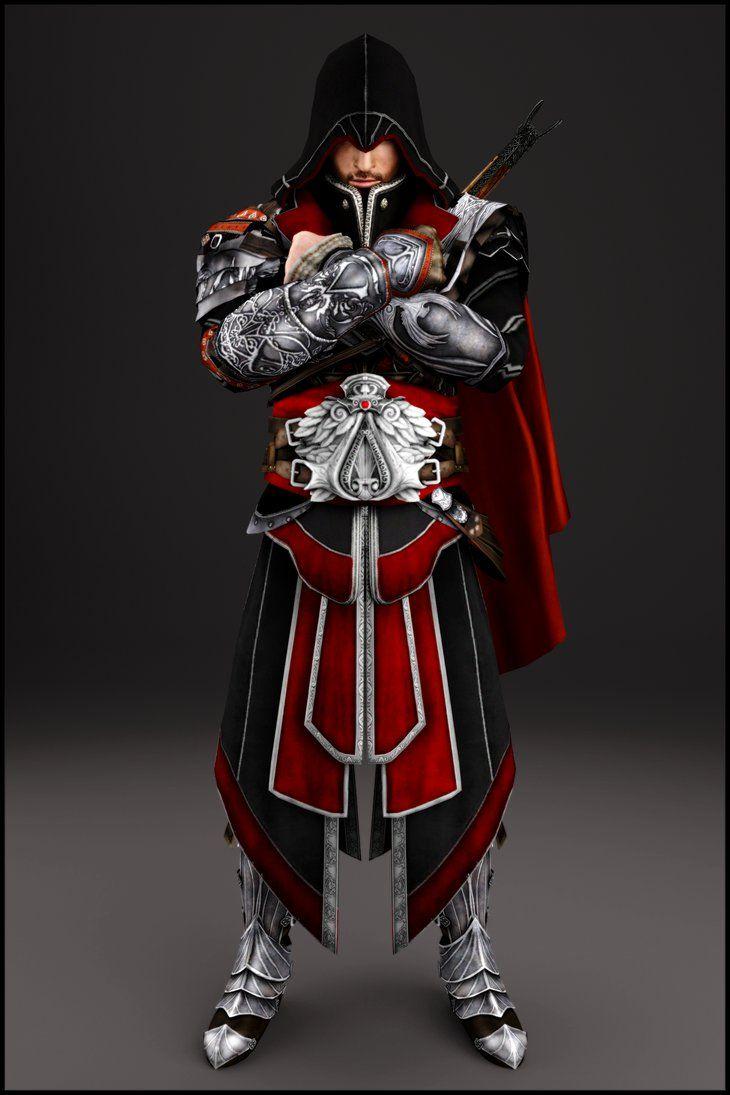 Ac Brotherhood Ezio Auditore By Ishikahiruma Assassins