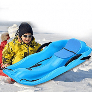 Outdoor Sport Skiing Pad Sled Kids Adult Plastic Sledge Snow Luge Board