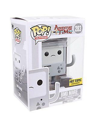 Funko Adventure Time Pop Television Bmo Noire Vinyl Figure Hot Topic Exclusive Pop Vinyl Figures Funko Vinyl Figures
