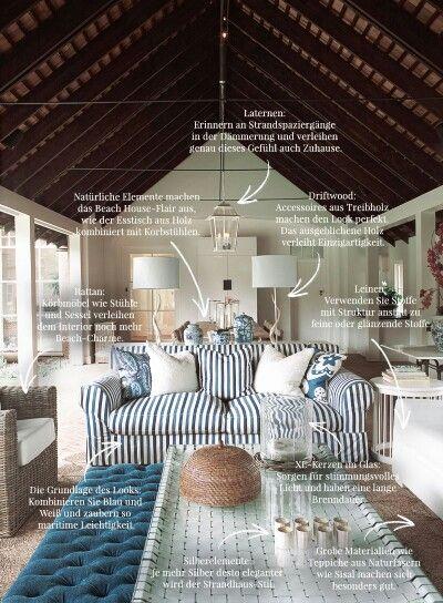 Strandhaus Stil Priwall Perle Pinterest Strandhaus-Stil - unter 1000 euro wohnideen