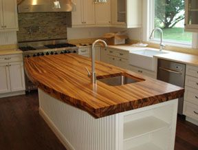Merveilleux Completely Over The Top In Love With Wooden Counter Tops   Too Bad The  Husband