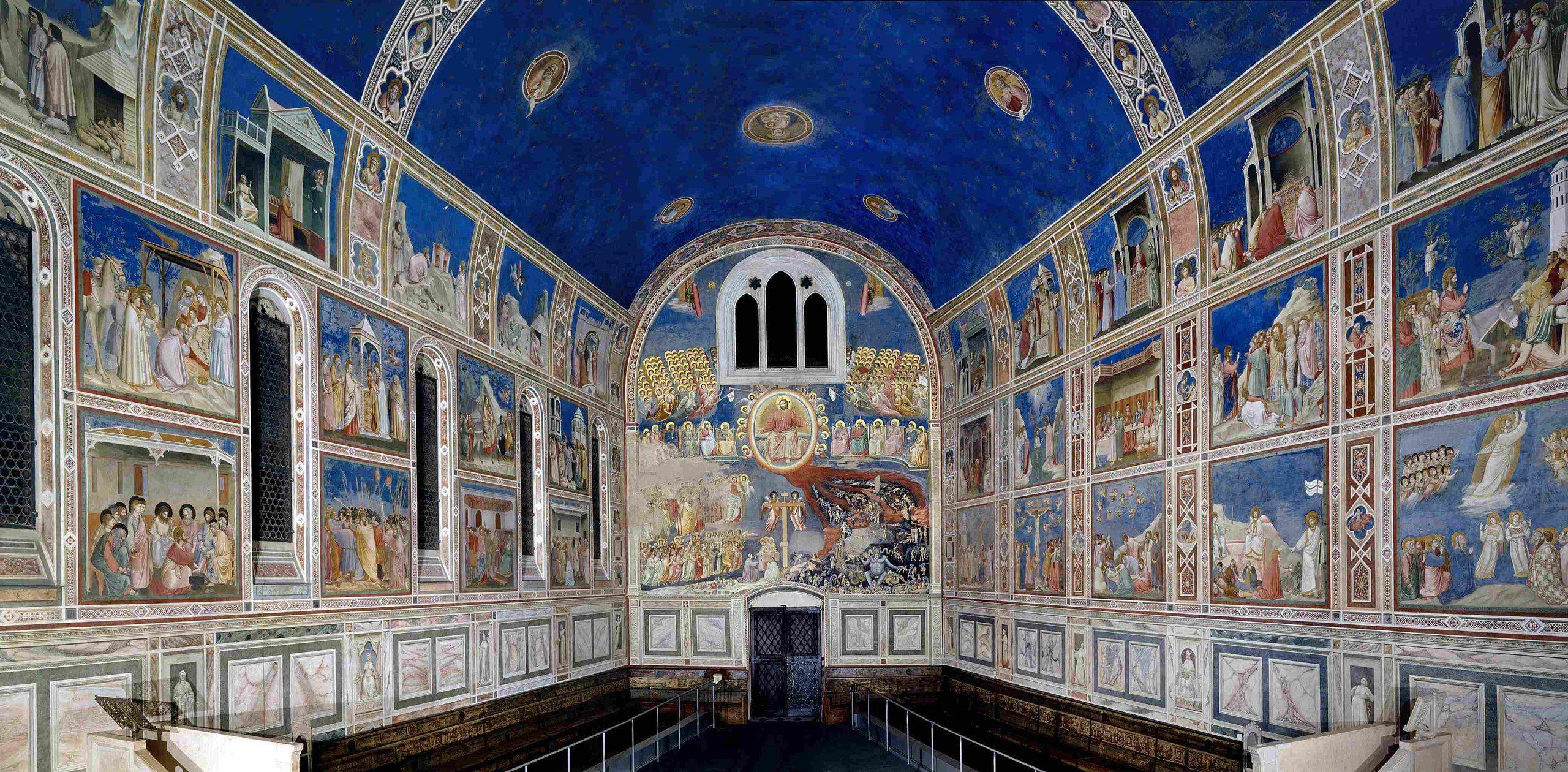Giotto di Bondone   The Scrovegni Chapel   Padua, Italy   (1304-06)