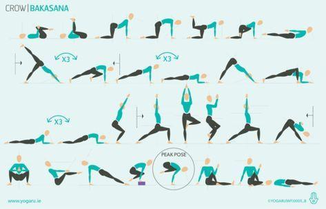 wellfest  crow  yoga flow hatha yoga sequence yoga help