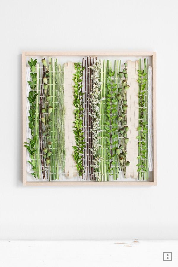 naturwebrahmen vertikale begr nung in 2018 zwo ste pinterest trockenblumen gr ser und. Black Bedroom Furniture Sets. Home Design Ideas