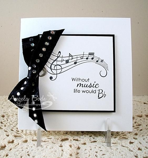 Musical Birthday Cards New 17 Best Images About Birthday Cards Music Theme On Musical Birthday Cards Cards Handmade Musical Cards