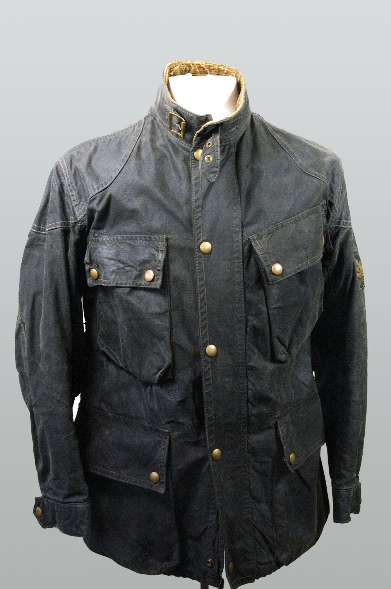 Vintage Belstaff Trialmaster Jacket Waxed Cotton Jacket Barbour Style Jackets