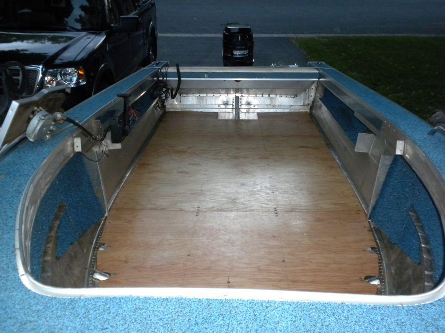 I am replacing the floor in my 1639 1987 sylvan pro for Replacing boat floor