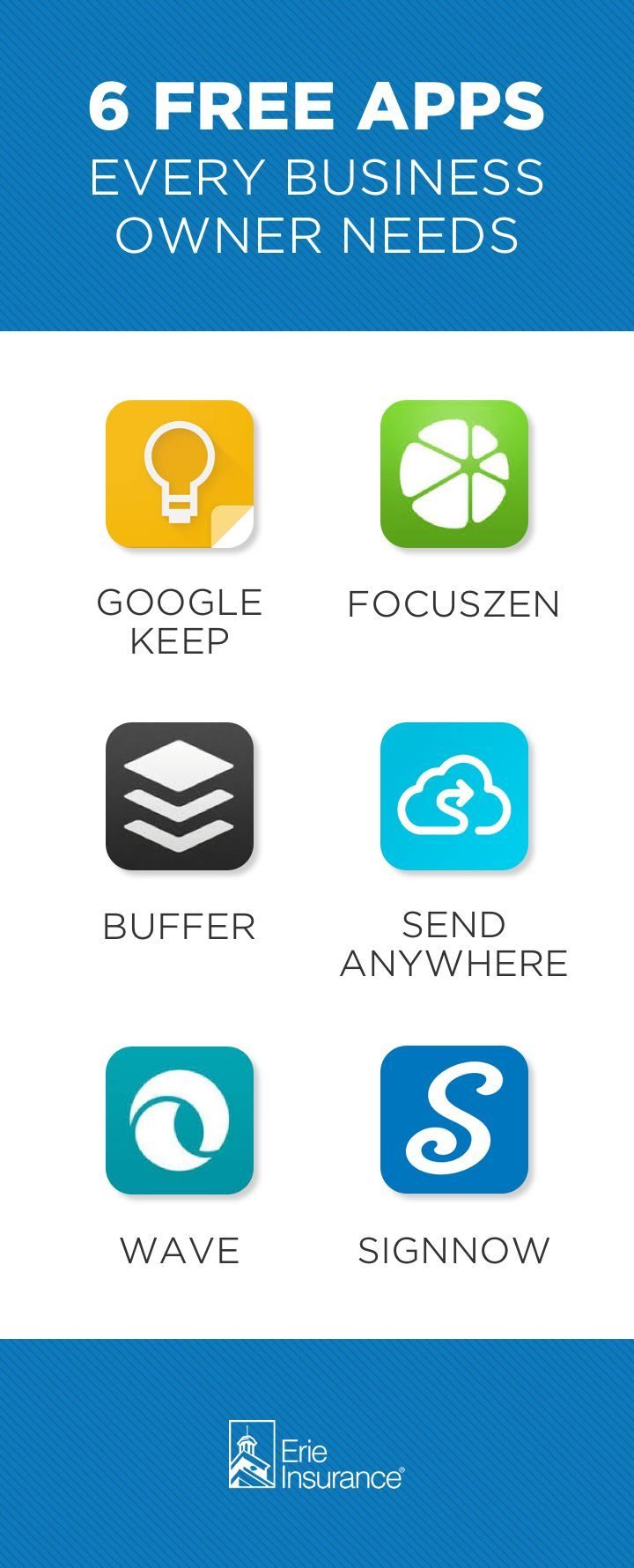 6 Free Apps For Business Owners Business Owner Business App