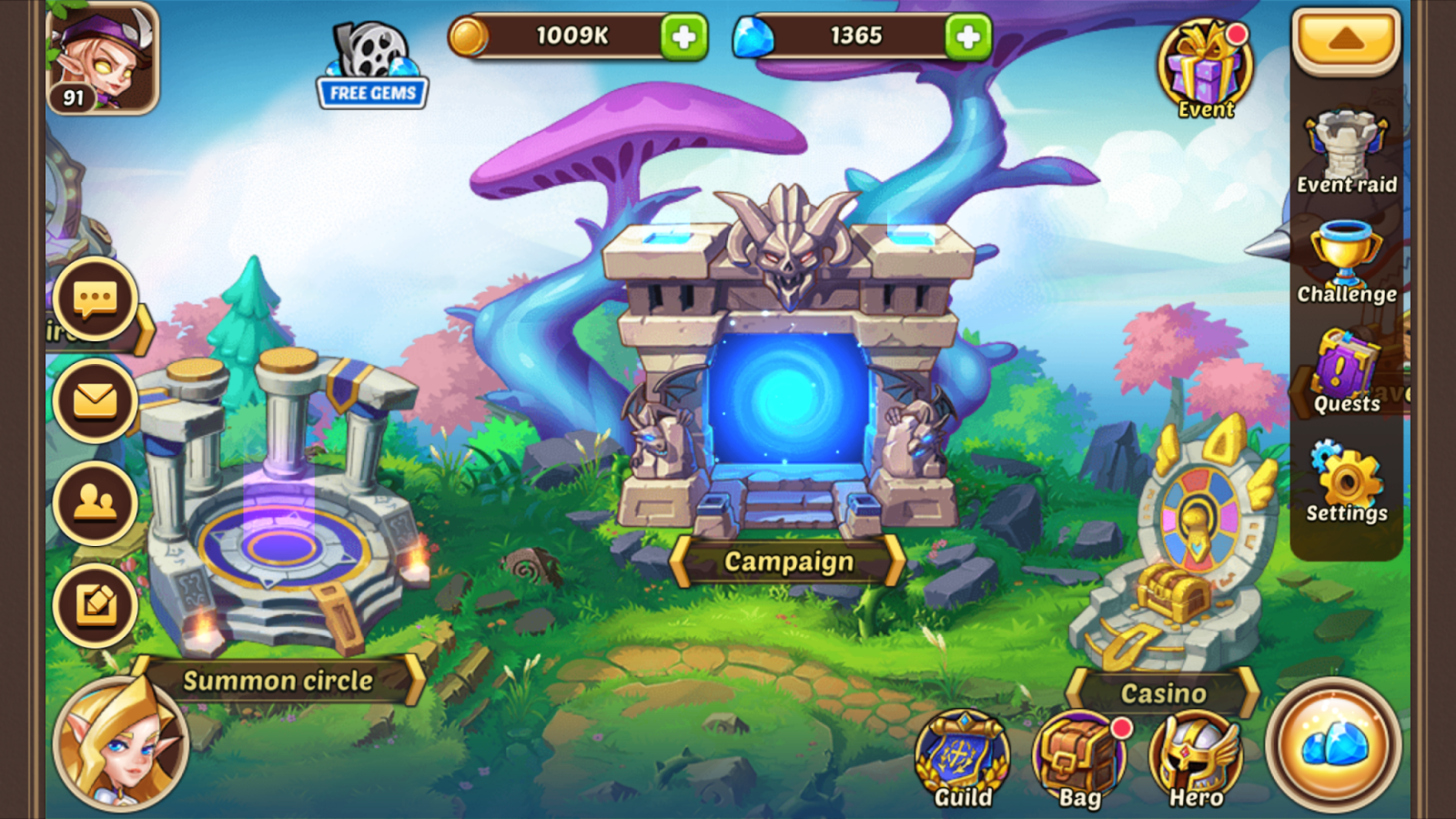 Pin by Master SEO on Idle Heroes Hack, slash, Real hack