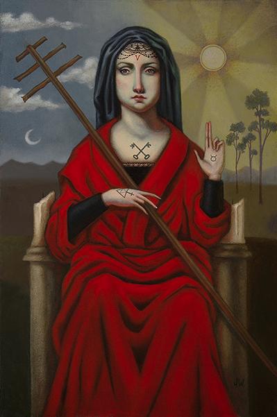 Tarot Under Oath Jasmine Worth The Heirophant