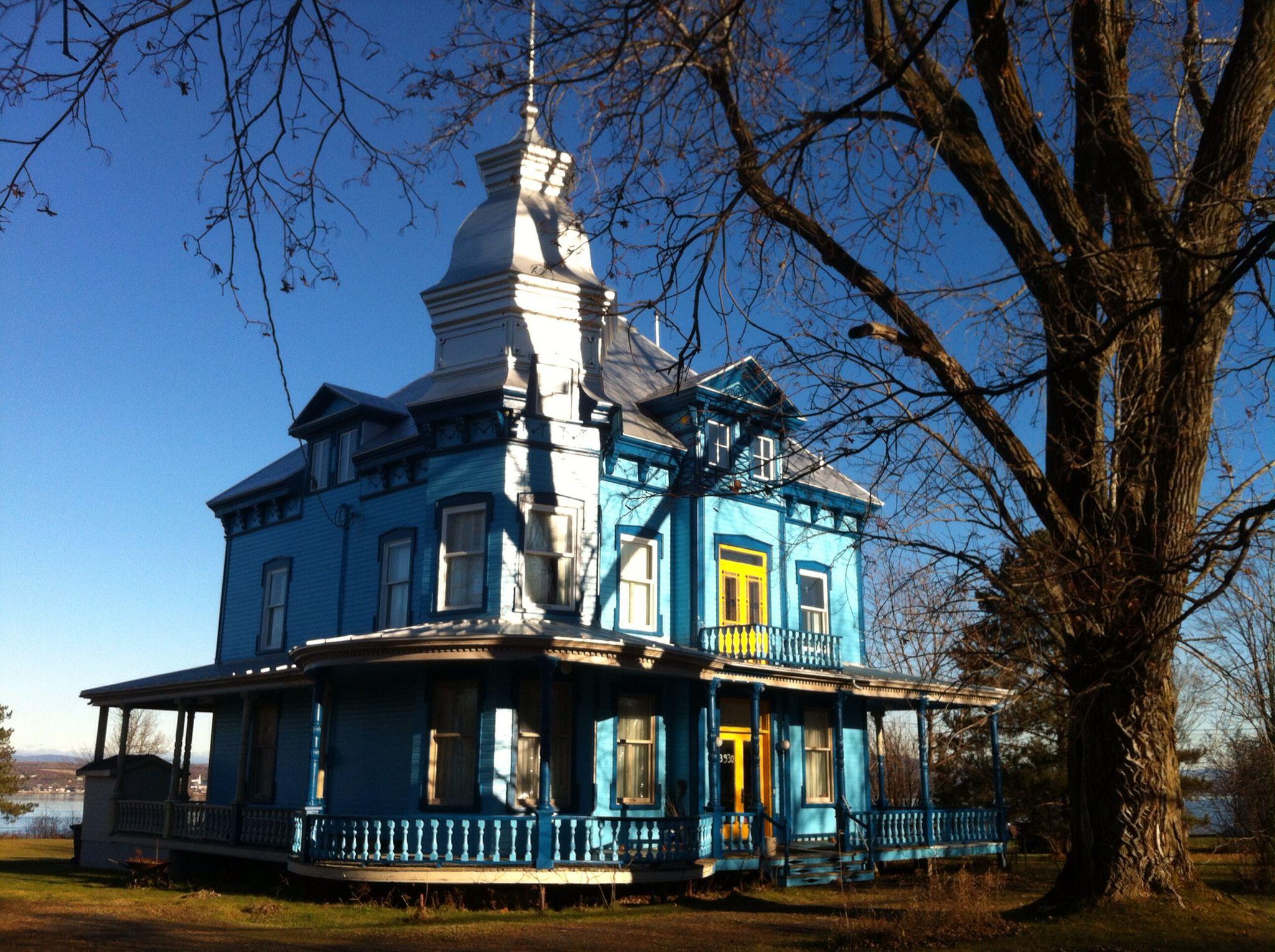 Maison victorienne saint antoine de tilly qc canada saint antoine de tilly maison villa - Maison victorienne ...