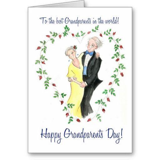Grandparents Day Greeting Card Zazzle Com In 2021 Anniversary Congratulations Wedding Anniversary Cards 45th Wedding Anniversary