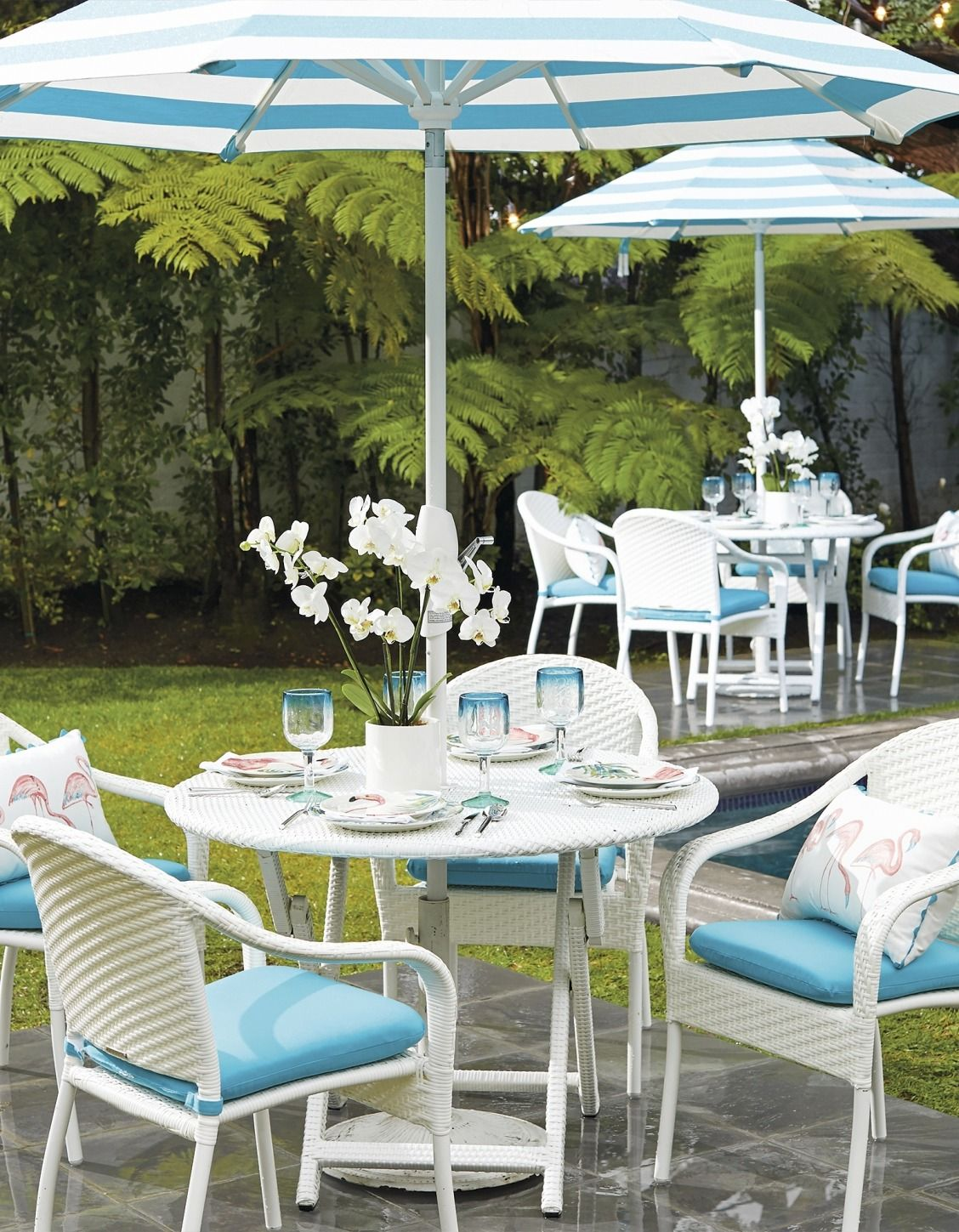 Cafe Dining Collection Balcony Table Chairs Outdoor Patio Bar