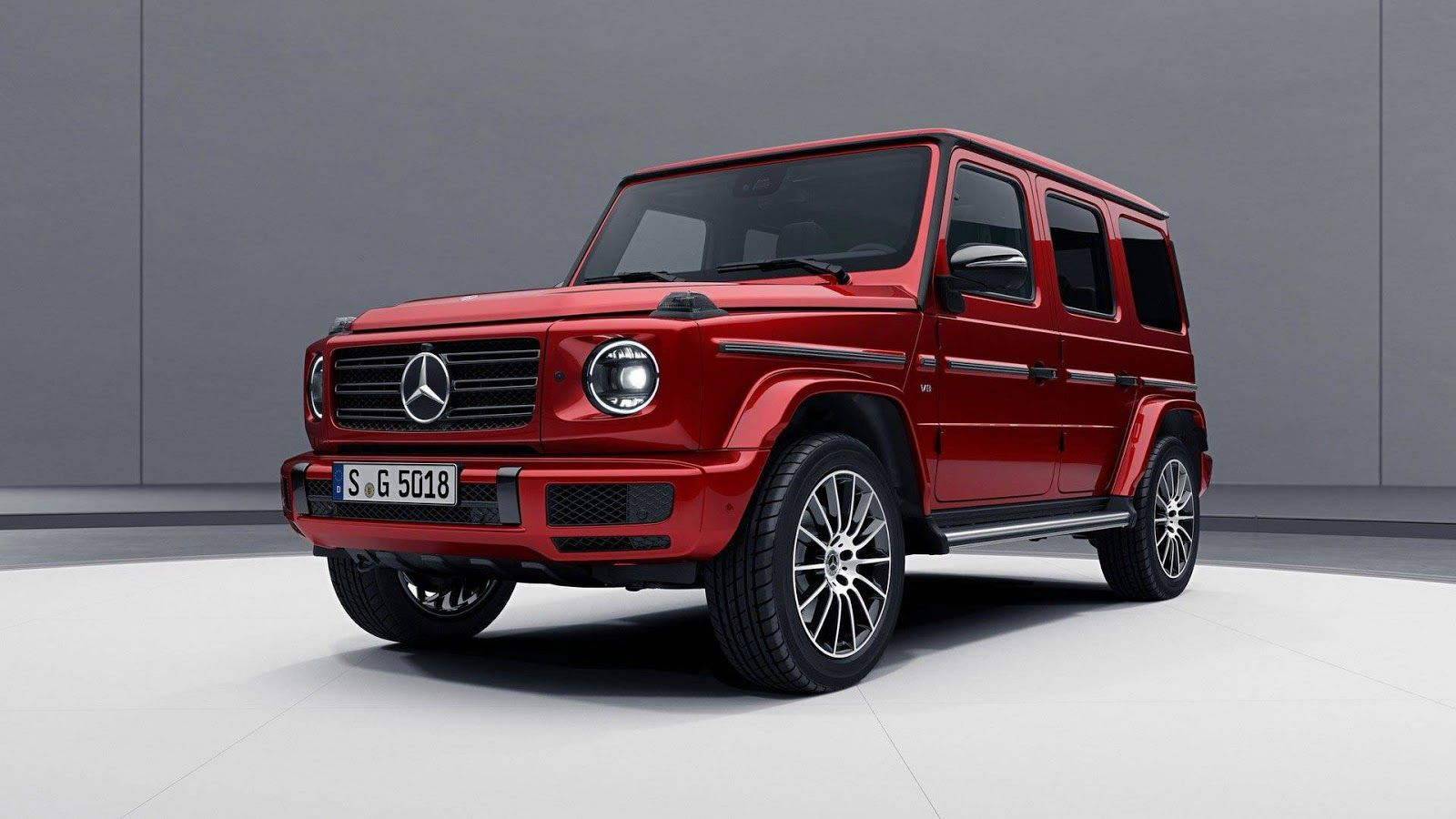 Mercedes Benz Gives New G Class A Low Key Night Package Mercedes