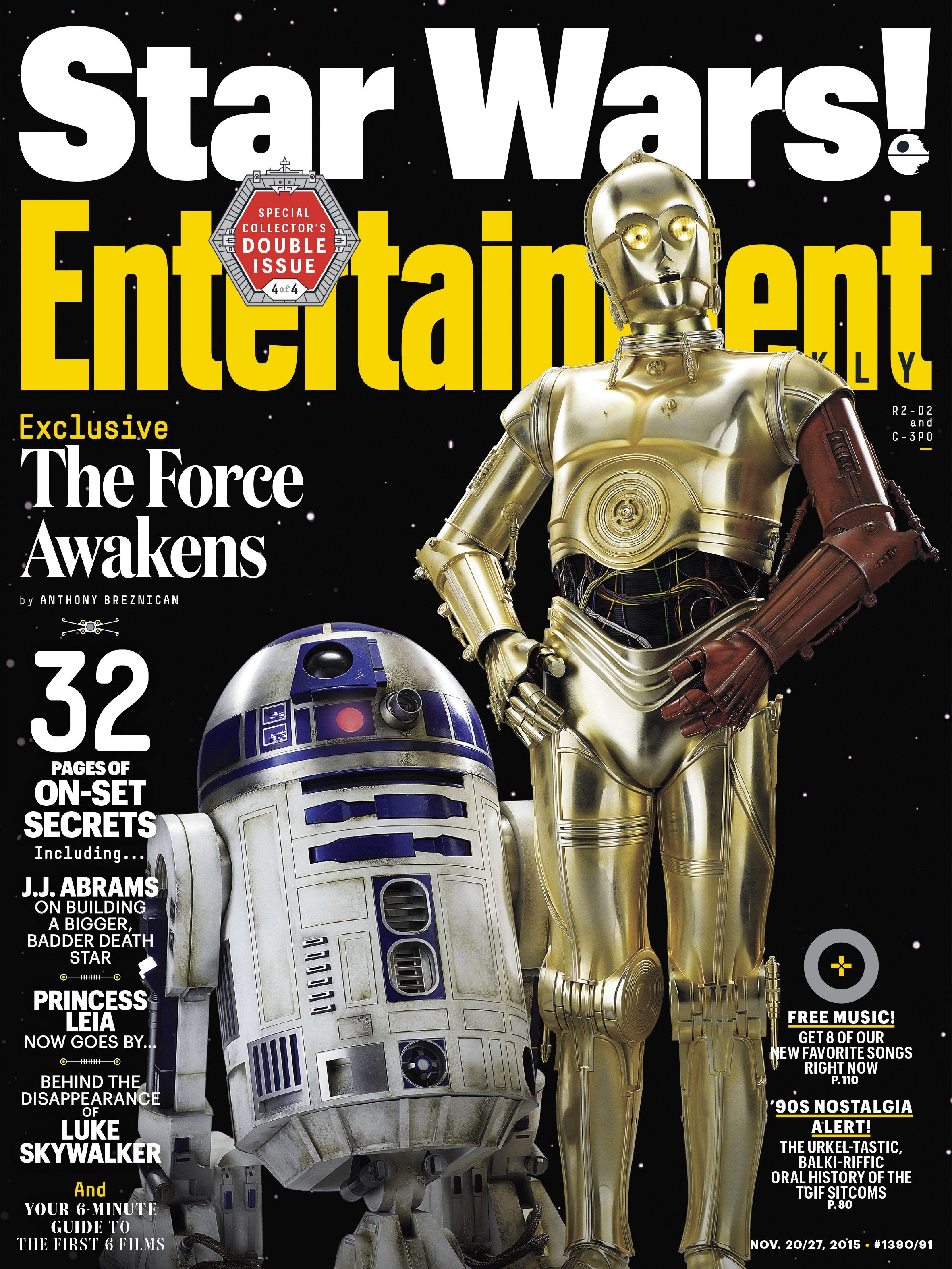 Entertainment Weekly - Star Wars: The Force Awakens, Nov 2015
