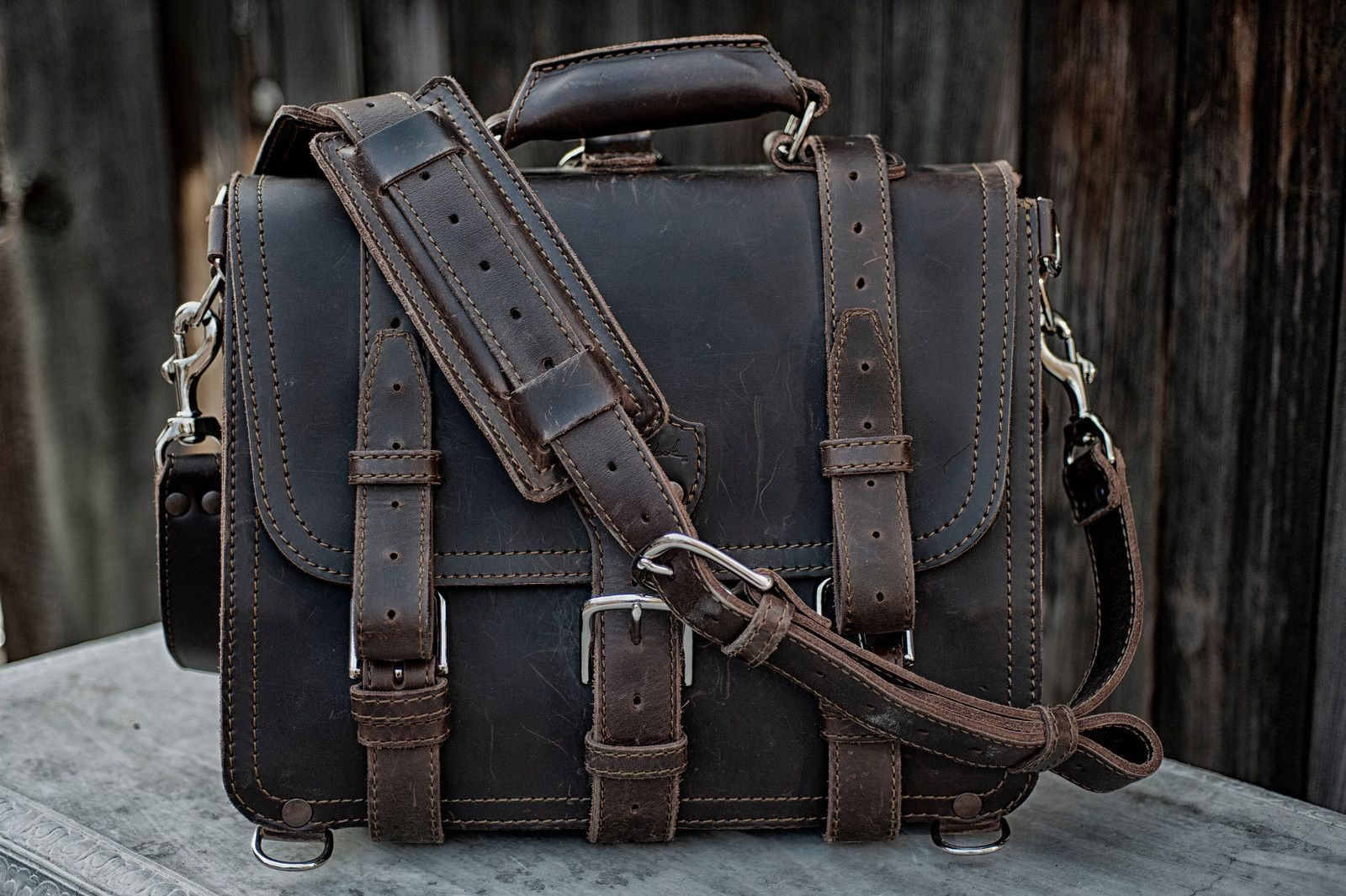 Saddleback Leather Medium Briefcase Review Saddleback Leather, Leather  Briefcase, Messenger Bag Men, Leather 60ad7261248