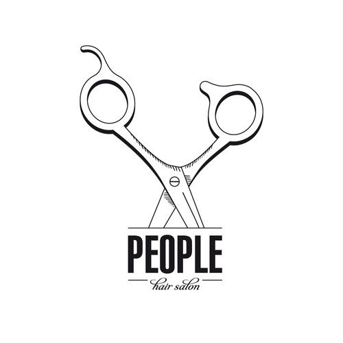 HAIR SALON PEOPLE by HANY, via Behance